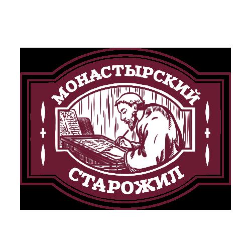 логотип линейки Монастырский старожил