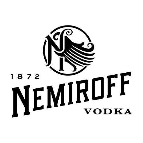Логотип линейки Nemiroff: водка, настойки